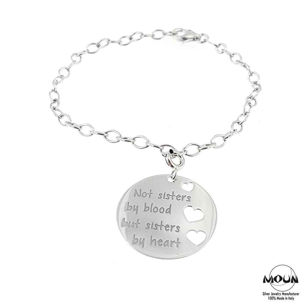 braccialetti argento personalizzati