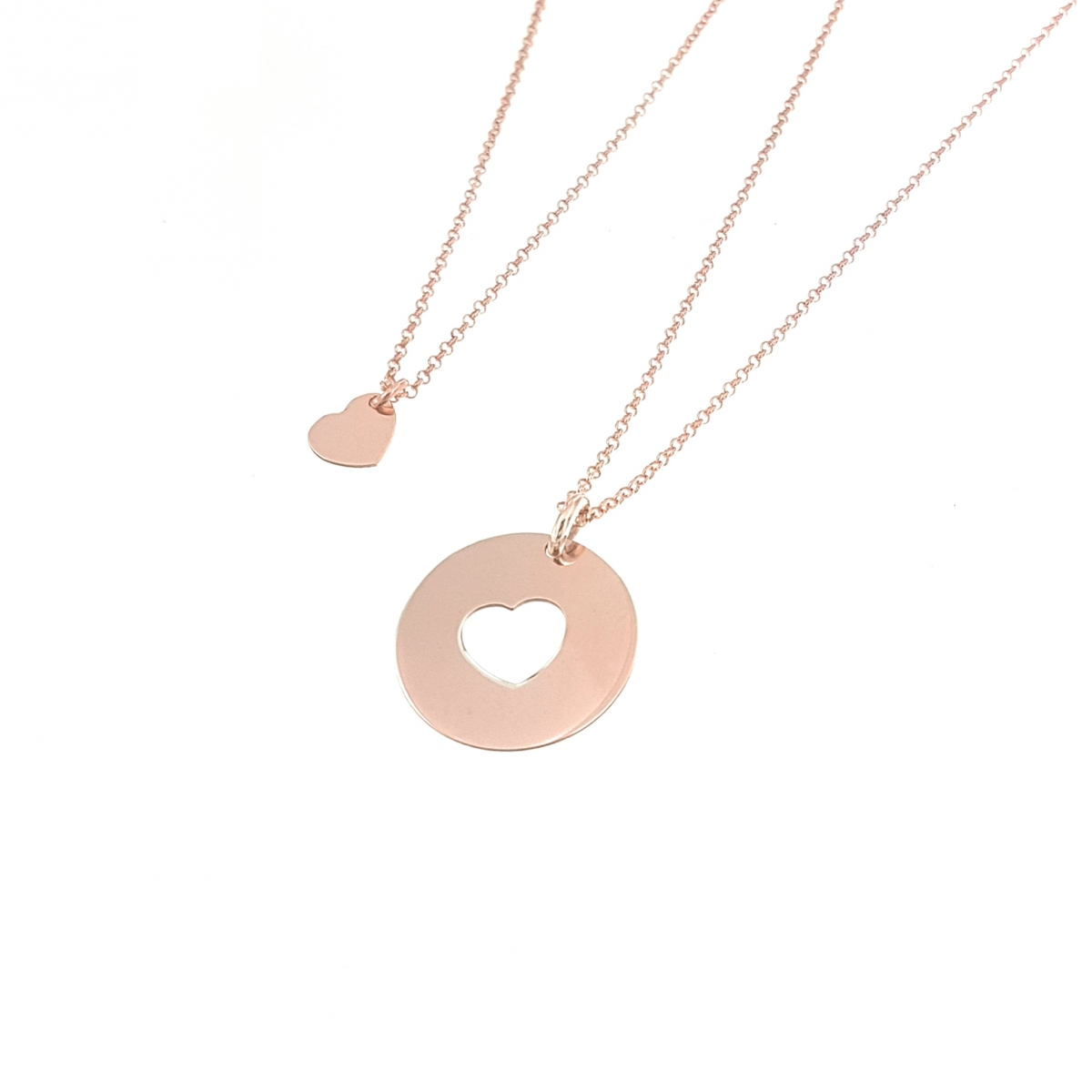 check-out 9b15d 3dafb Collana Madre Figlia | Argento 925 | Made in Italy - Moun ...