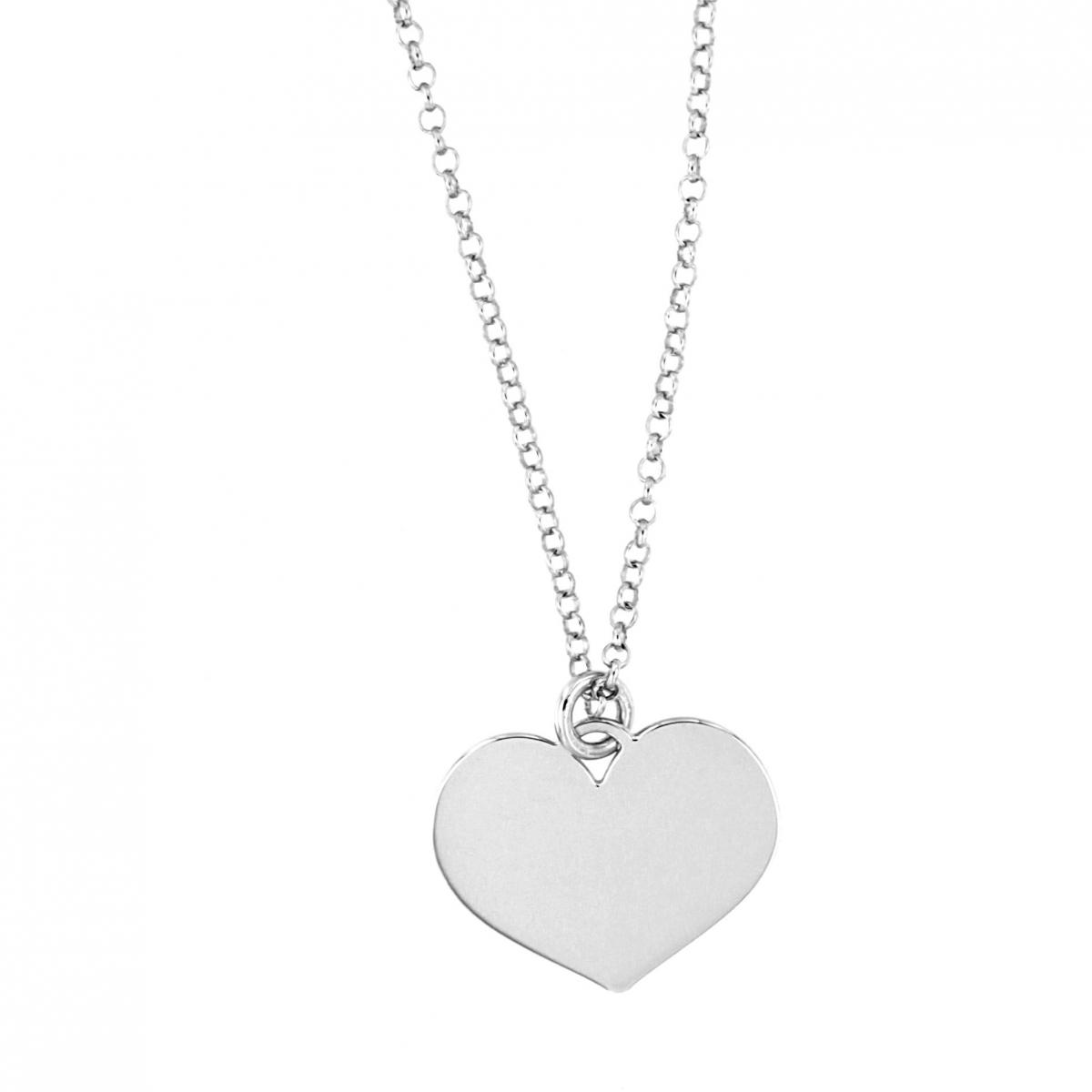nuovi prezzi più bassi retrò designer nuovo e usato Collana con cuore | Argento 925 | Made in Italy - Moun ...