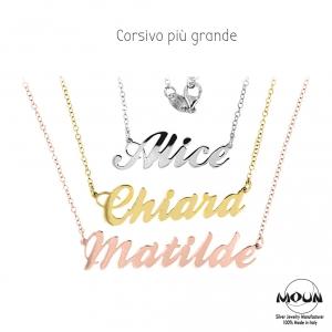 selezione premium c4c7d abdc7 Collane personalizzabili - Personalizzabili - Moun Jewels ...