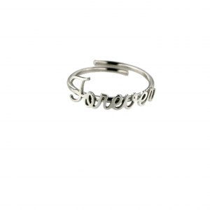 Anello #Forever in argento 925