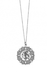 Collana tribale in argento 925